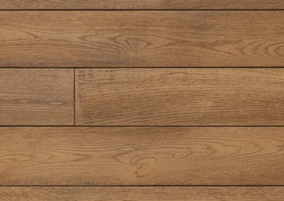Enhanced grain coppered oak swatch